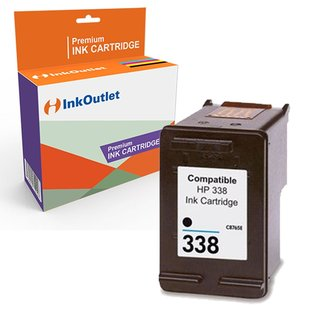 Huismerk HP 338XL inktcartridge Zwart