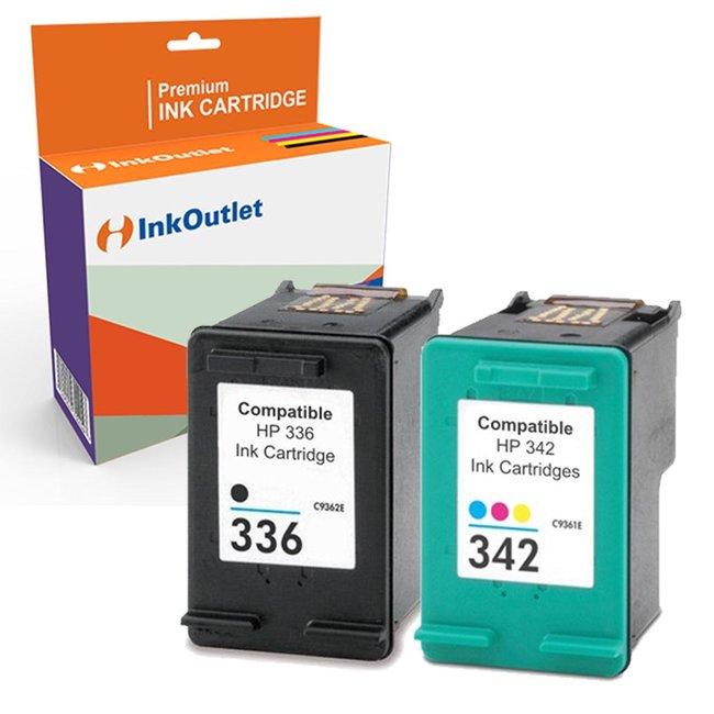 Huismerk HP 336XL + HP 342XL Multipack (2set)