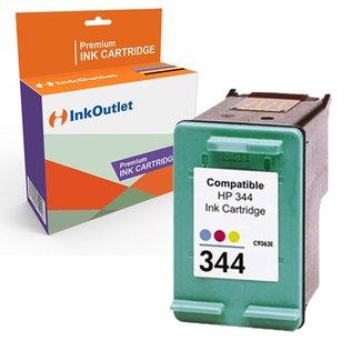 Huismerk HP 344XL inktcartridge Kleur