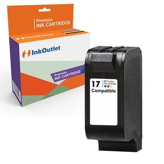 Huismerk HP 17XL (C6625A) inkt cartridge Kleur