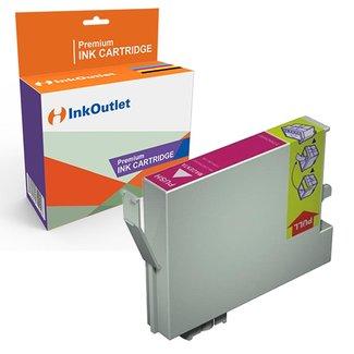 Huismerk Epson T0553 magenta inkt cartridge