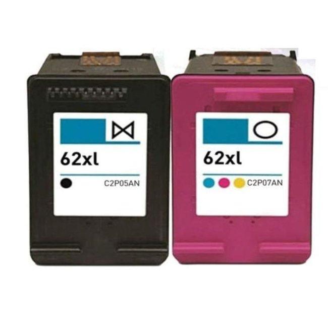 Huismerk HP 62XL Multipack (2set)