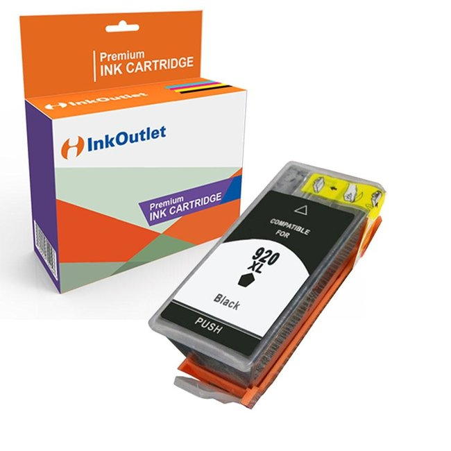 Huismerk HP 920XL inkt cartridge Zwart incl. Chip
