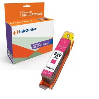 Huismerk HP 920XL inkt cartridge Magenta incl. Chip