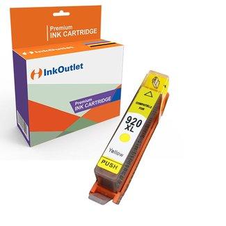 Huismerk HP 920XL inkt cartridge Geel incl. Chip