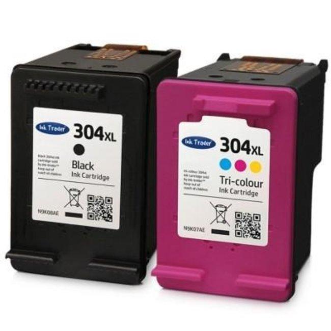 Huismerk HP 304XL Multipack (N9K07AE/N9K08AE)