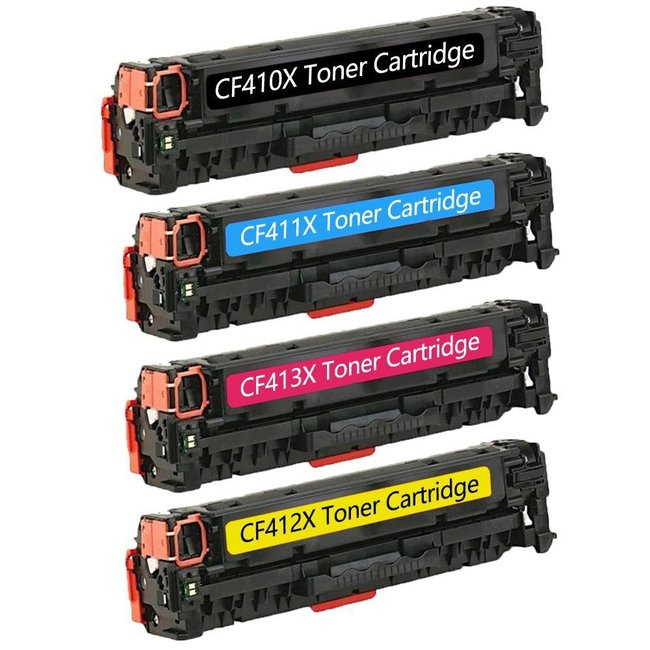 Huismerk HP 410X (CF410X t/m CF413X) Multipack