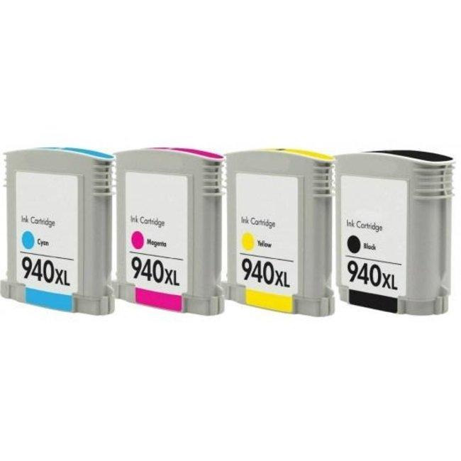 Huismerk HP 940XL Multipack incl. Chip (4set)