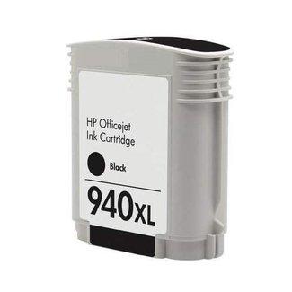 Huismerk HP 940XL Zwart incl. Chip