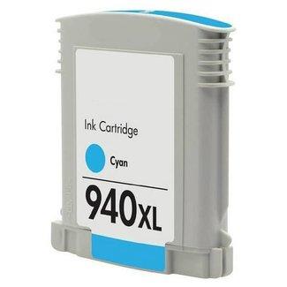 Huismerk HP 940XL Cyaan incl. Chip