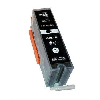 Huismerk Canon PGI-580 XXL Zwart incl. Chip