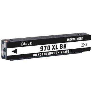 Huismerk HP 970XL (CN625AE) Zwart incl. Chip