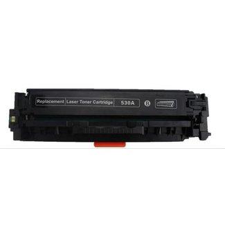 Huismerk HP 304A (CC530A) Toner Zwart