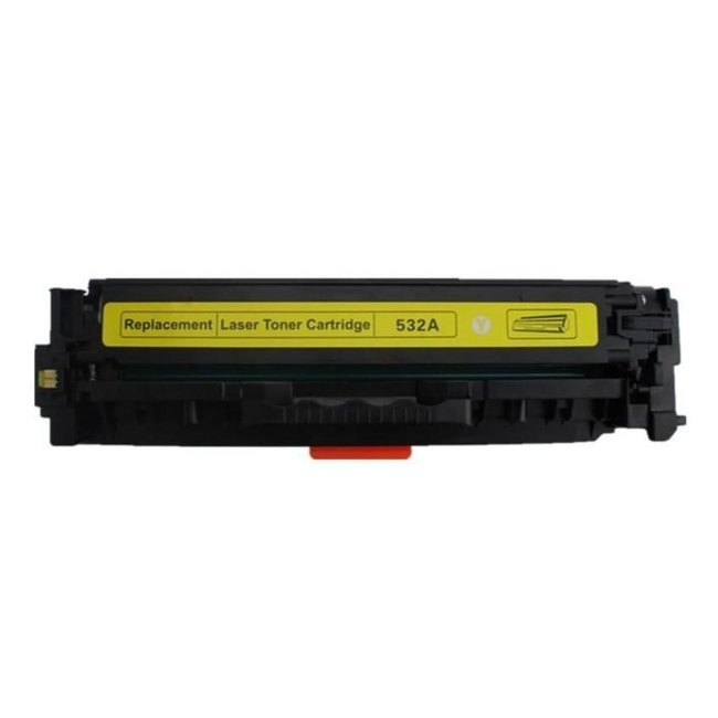 Huismerk HP 304A (CC532A) Toner Geel