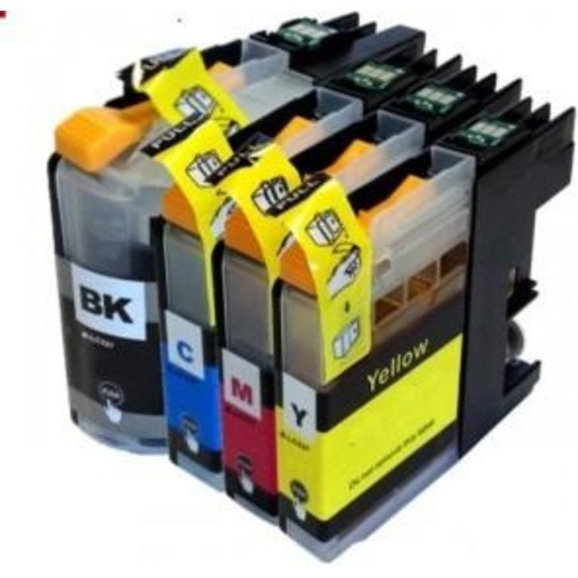 Huismerk Brother LC-223 XL Multipack incl. Chip (4set)