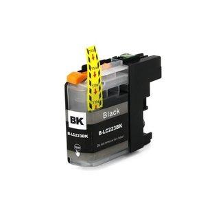 Huismerk Brother LC-223BK XL Zwart incl. Chip
