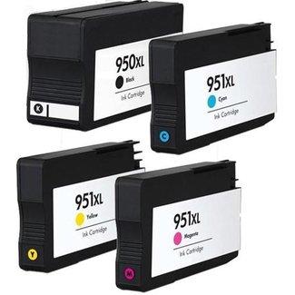 Huismerk HP 950XL + HP 951XL Multipack incl. Chip (4set)