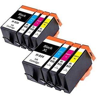 2x huismerk HP 934XL+ HP 935XL Multipack incl. Chip (8set)