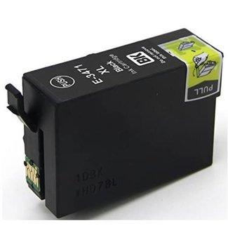 Huismerk Epson 34XL (T3471) Zwart incl. Chip