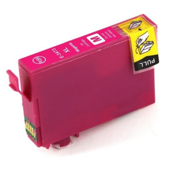 Huismerk Epson 34XL (T3473) Magenta incl. Chip