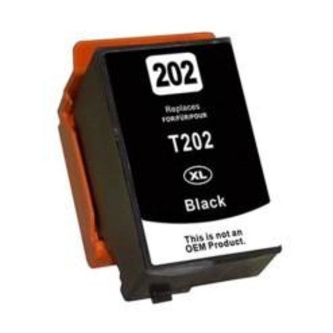 Huismerk Epson 202XL Zwart incl. Chip