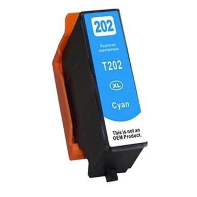 Huismerk Epson 202XL Cyaan incl. Chip