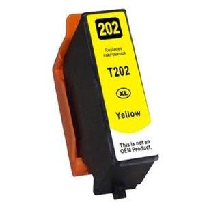 Huismerk Epson 202XL Geel incl. Chip