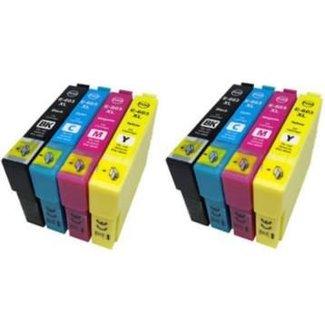 2x Huismerk Epson 603XL Multipack incl. Chip (8set)