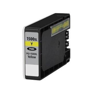 Huismerk Canon PGI-1500 XL Geel incl. Chip