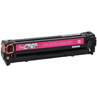 Huismerk HP 125A (CB543A) Toner Magenta