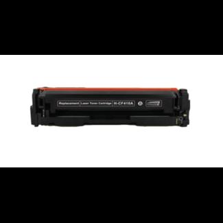 Huismerk HP 410A  (CF410A) Toner Zwart
