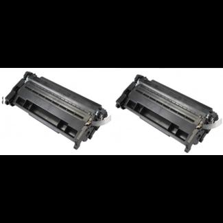 2x Huismerk HP 26A (CF226A) toner Zwart