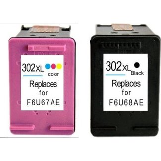 Huismerk HP 302XL Multipack (2set)