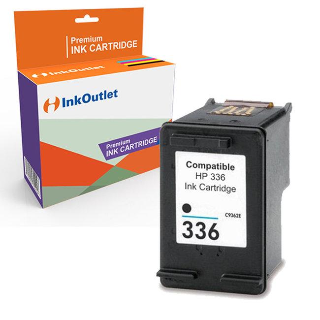 Huismerk HP 336XL inktcartridge Zwart