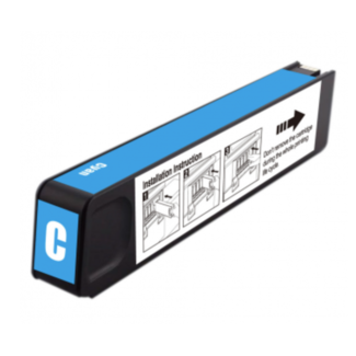 Huismerk HP 971XL (CN626AE) Cyaan incl. Chip