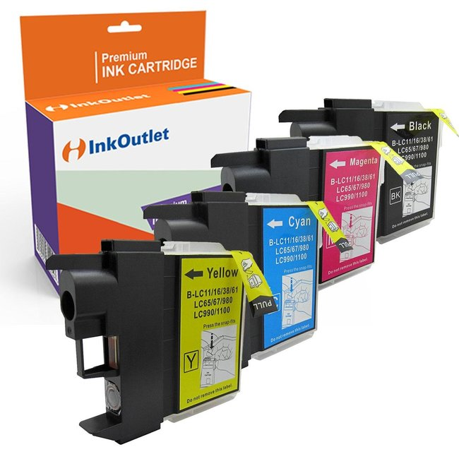 Huismerk Brother LC-1100 Multipack XL