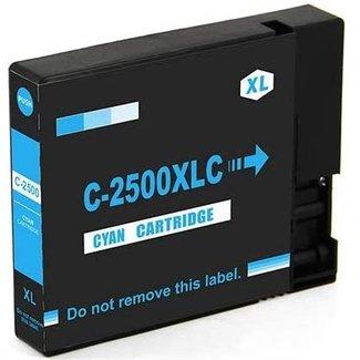 Huismerk Canon PGI-2500 XL Cyaan incl. Chip