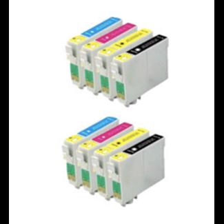 2x Huismerk Epson T1305 XXL multipack (8set)