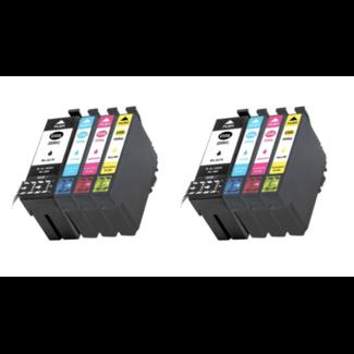 2x Huismerk Epson 35XL (T3596) Multipack 8set