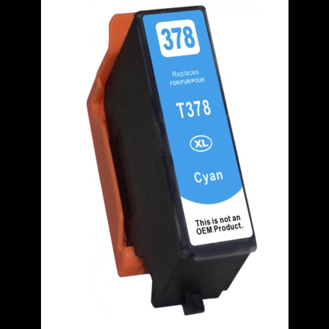 Huismerk Epson 378XL (T3792) Cyaan