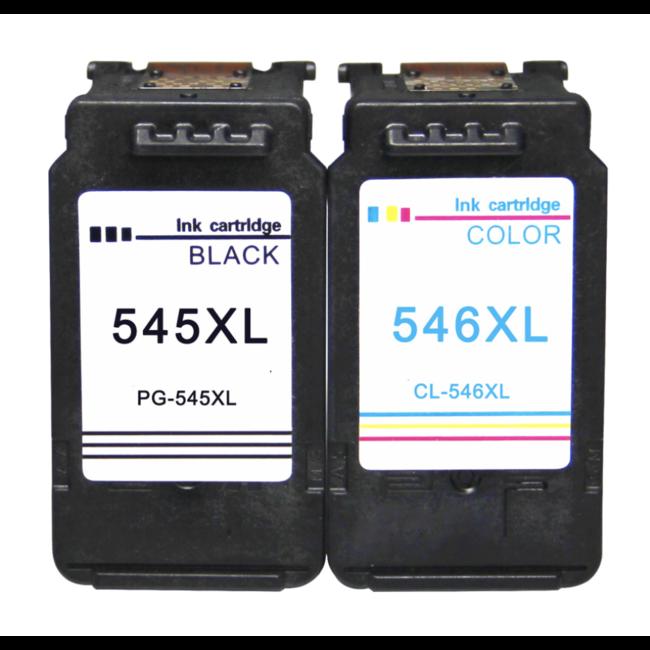 Huismerk Canon PG-545 + CL-546 Multipack XL