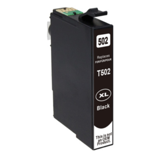 Huismerk Epson 502XL inktcartridge zwart