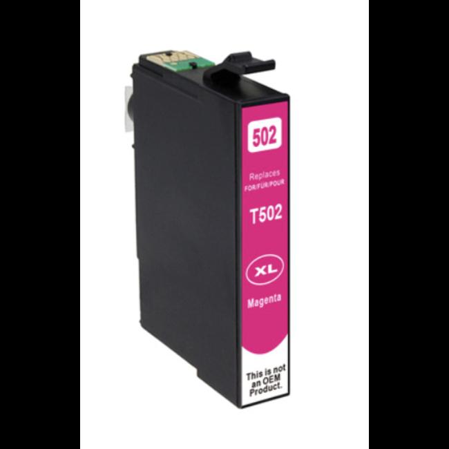 Huismerk Epson 502XL inktcartridge Magenta