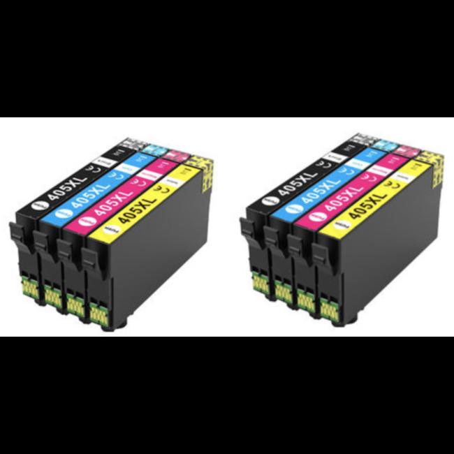 2x Huismerk Epson 405XL Multipack (8set)