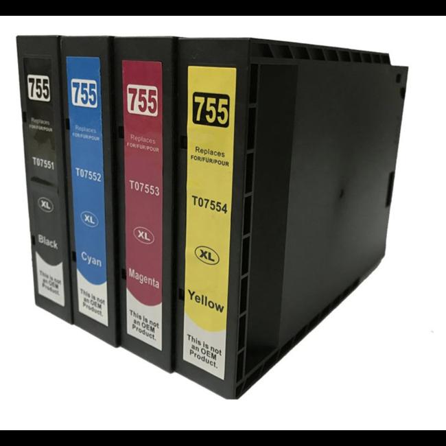 Huismerk Epson T7551 - T7554 Multipack (4set)