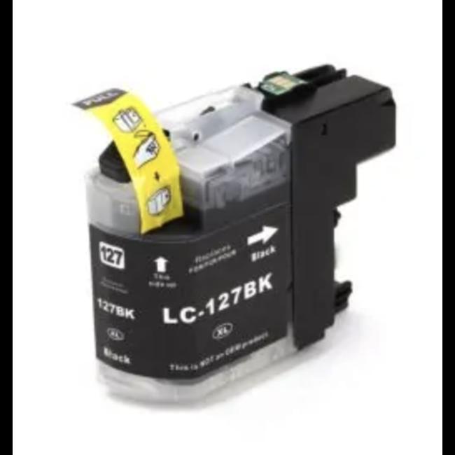 Huismerk Brother LC-127 XL Zwart