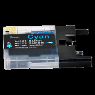Huismerk Brother LC-1280C Cyaan XL