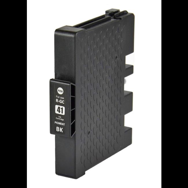 Huismerk Ricoh GC-41KL cartridge Zwart