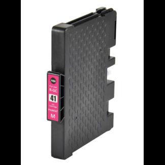 Huismerk Ricoh GC-41ML cartridge Magenta