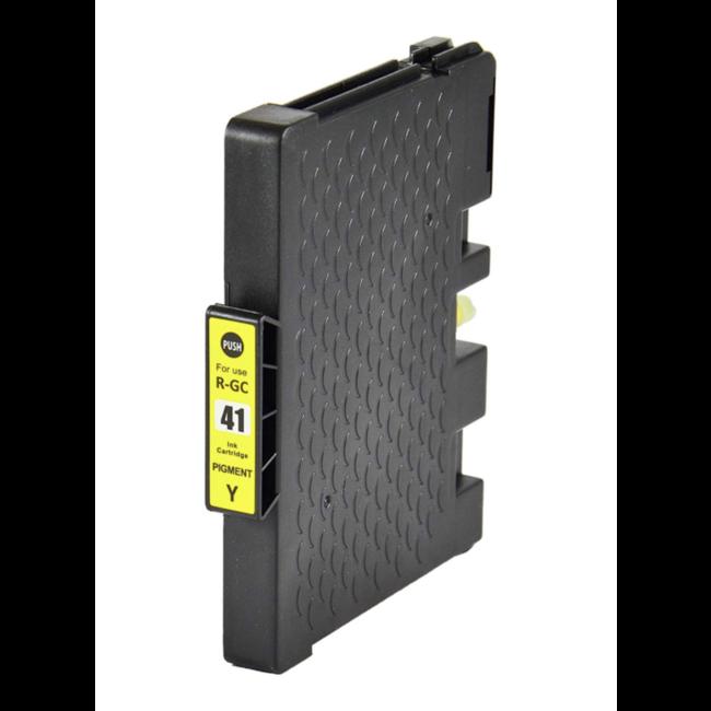 Huismerk Ricoh GC-41Y cartridge Geel